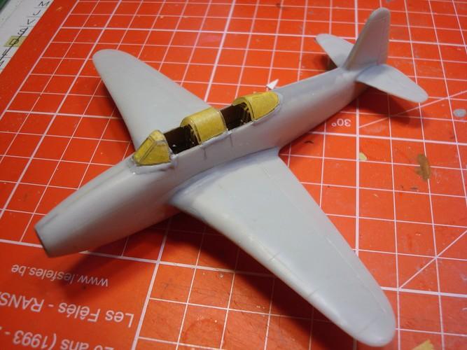 Yakovlev Yak 17 UTI ( Amodel 1/72°) Dsc09412
