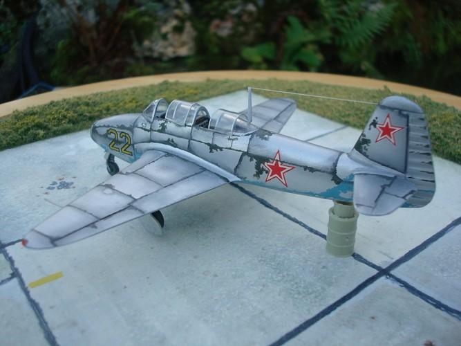 Yakovlev Yak 17 UTI ( Amodel 1/72°) Dsc09447