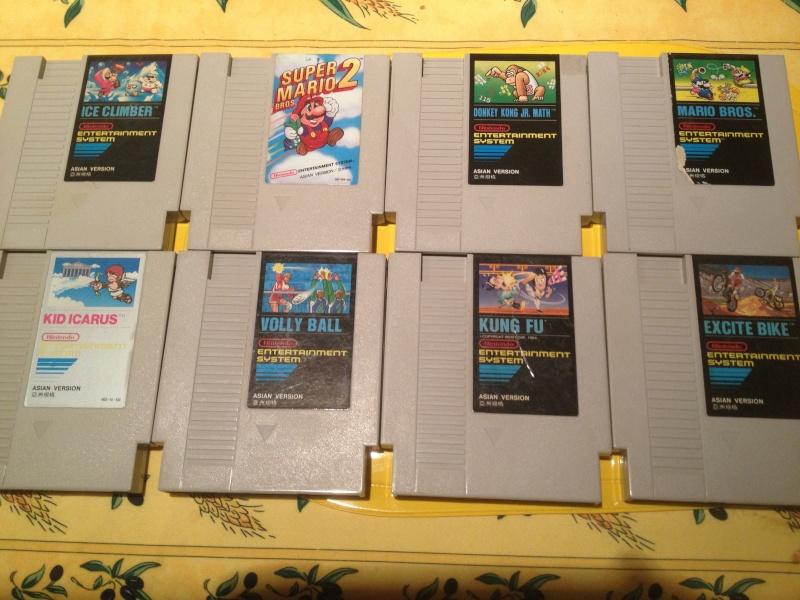 [estim] lot de jeux NES asian , hong kong version et korean version Img_1228