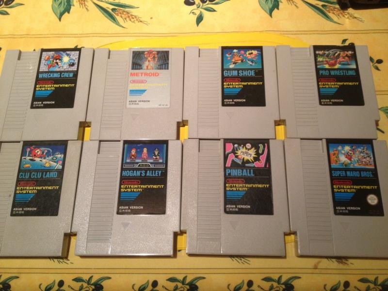 [estim] lot de jeux NES asian , hong kong version et korean version Img_1230