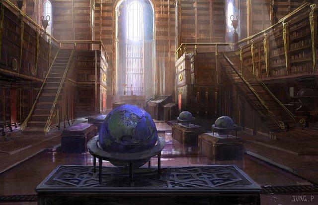 Библиотека. Северное крыло Librar10