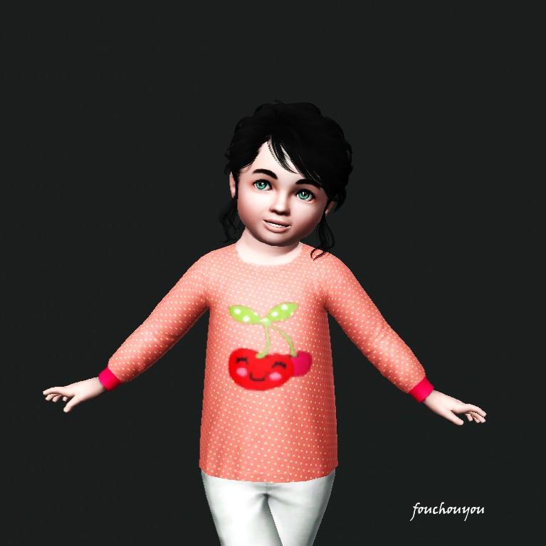 Toddler girl top Screen21
