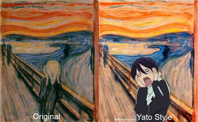 The Scream, Noragami Style  The_sc10