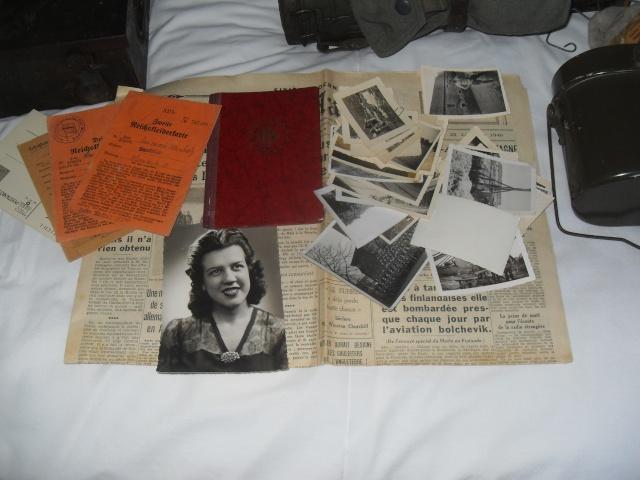 Vitrine Allemande : Diplome Spange EK1 NSDAP 18/05 Sdc12235