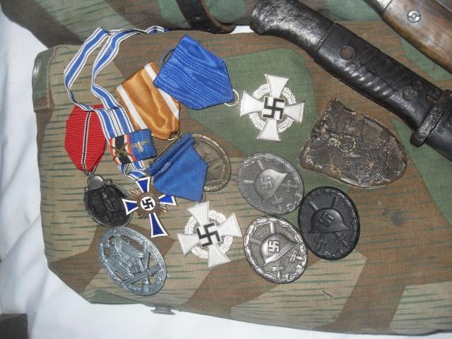 Vitrine Allemande : Diplome Spange EK1 NSDAP 18/05 Sdc12237
