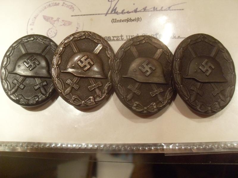Vitrine Allemande : Diplome Spange EK1 NSDAP 18/05 Sdc12323
