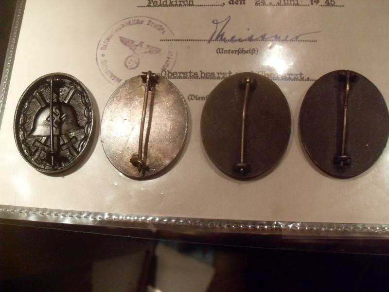 Vitrine Allemande : Diplome Spange EK1 NSDAP 18/05 Sdc12324