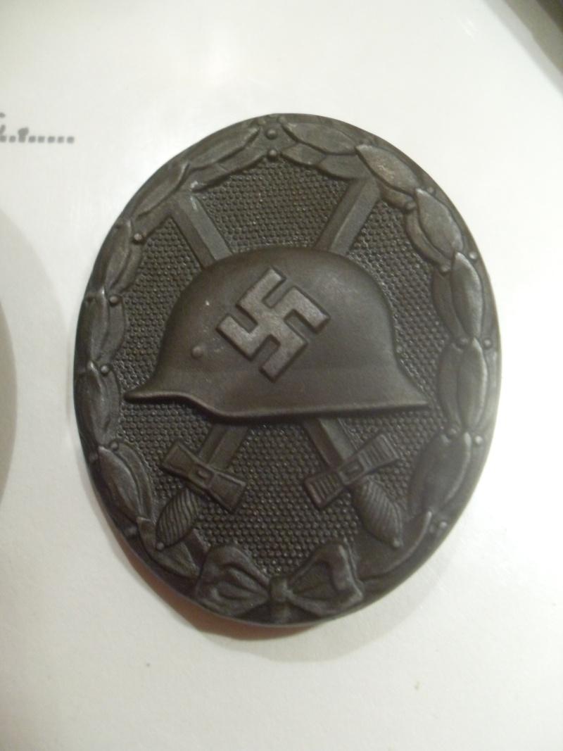 Vitrine Allemande : Diplome Spange EK1 NSDAP 18/05 Sdc12325