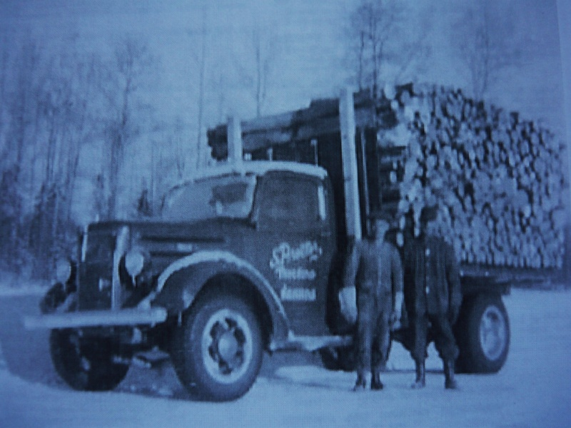 Chevrelet avec roll off forestier ( complété ) 18310