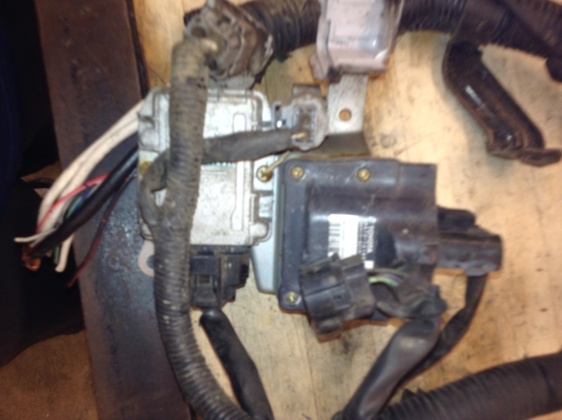 Old And slightly New (used) Engine Harness/loom 2013-135
