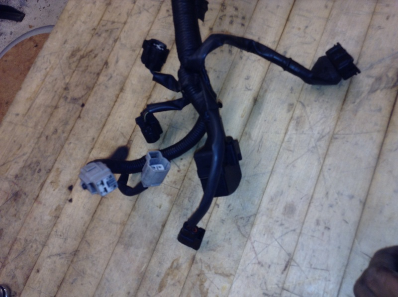 Old And slightly New (used) Engine Harness/loom 2013-141