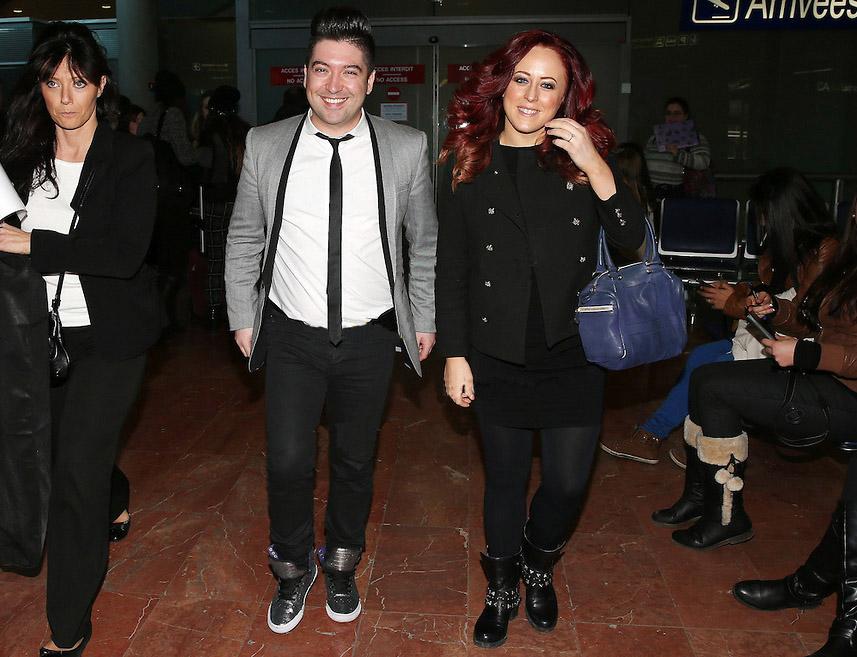 Arrivée de Chris et Jaclyn Spencer à Nice pour la 15ème édition des NRJ Music Awards 2014 Chris412