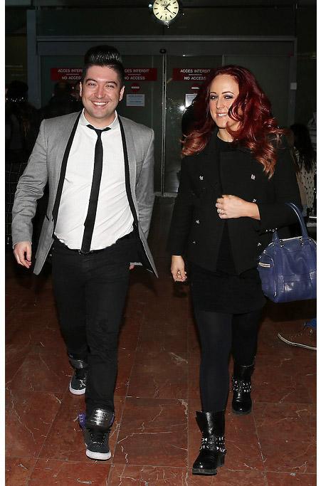 Arrivée de Chris et Jaclyn Spencer à Nice pour la 15ème édition des NRJ Music Awards 2014 Chris510