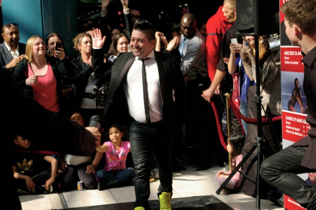 [05.04.2014] Chris Marques et Jaclyn Spencer pour l'événement #BestOfDance aux #3Fontaines Imgp9313