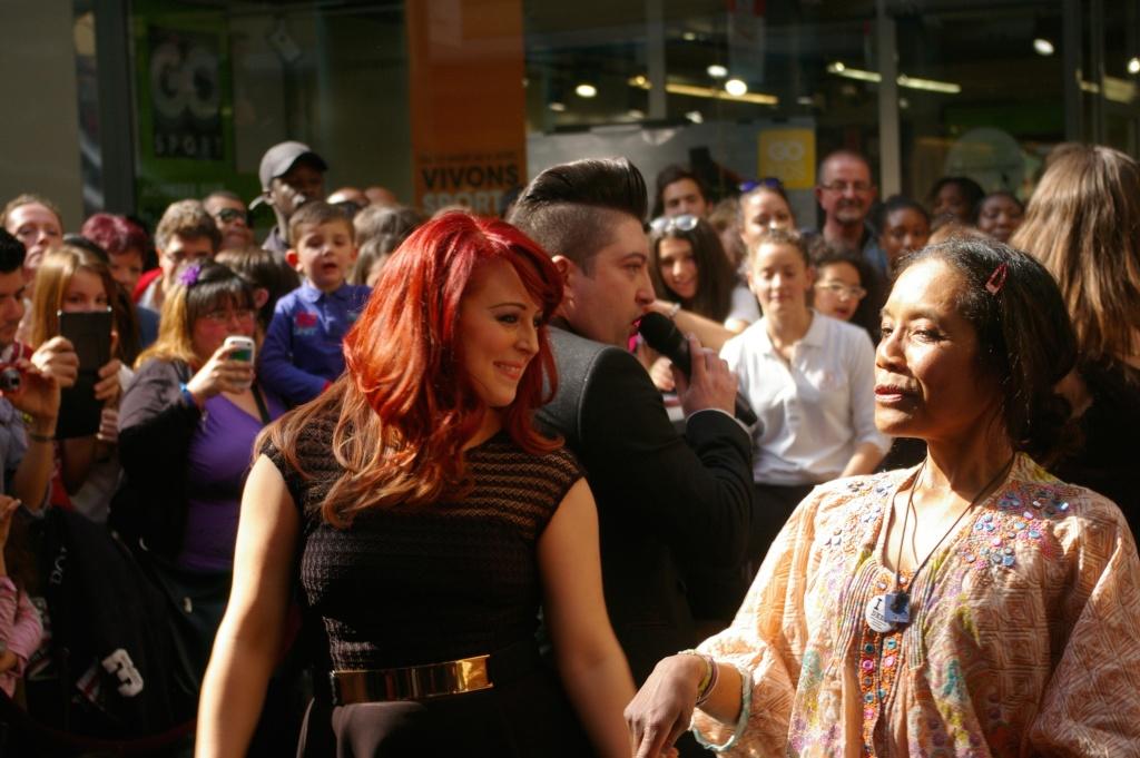 [05.04.2014] Chris Marques et Jaclyn Spencer pour l'événement #BestOfDance aux #3Fontaines Imgp9525