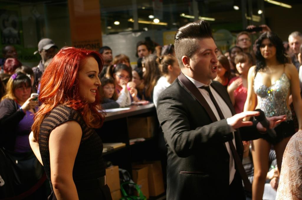 [05.04.2014] Chris Marques et Jaclyn Spencer pour l'événement #BestOfDance aux #3Fontaines Imgp9540