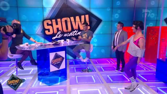 """[10.10.2013] Photos de Chris Marques dans """"Show! Le Matin"""" en live sur D17  Vlcsn108"""