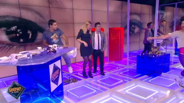"""[10.10.2013] Photos de Chris Marques dans """"Show! Le Matin"""" en live sur D17  Vlcsn116"""