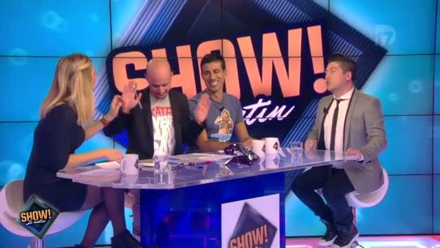 """[10.10.2013] Photos de Chris Marques dans """"Show! Le Matin"""" en live sur D17  Vlcsn155"""