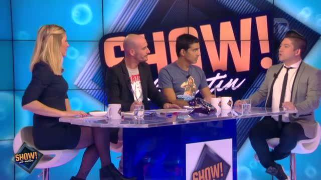 """[10.10.2013] Photos de Chris Marques dans """"Show! Le Matin"""" en live sur D17  Vlcsn161"""