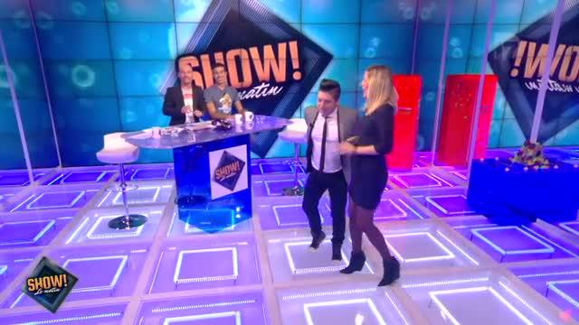 """[10.10.2013] Photos de Chris Marques dans """"Show! Le Matin"""" en live sur D17  Vlcsn170"""