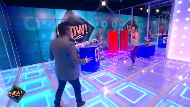 """[10.10.2013] Photos de Chris Marques dans """"Show! Le Matin"""" en live sur D17  Vlcsna81"""