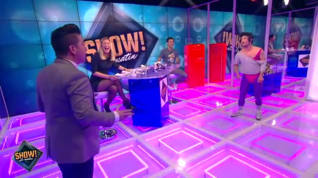 """[10.10.2013] Photos de Chris Marques dans """"Show! Le Matin"""" en live sur D17  Vlcsna82"""