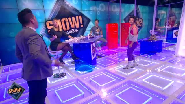 """[10.10.2013] Photos de Chris Marques dans """"Show! Le Matin"""" en live sur D17  Vlcsna84"""