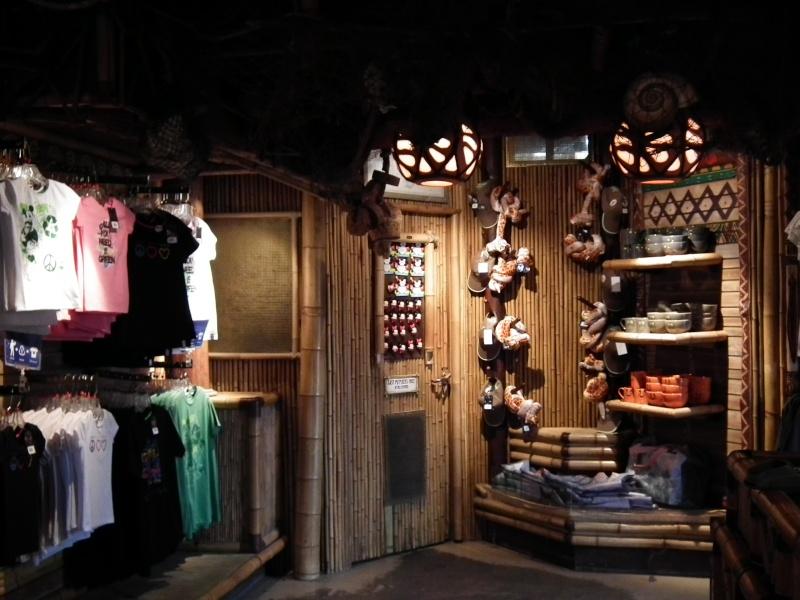 Descriptif des boutiques du Parc Disneyland (en construction) 2012-013