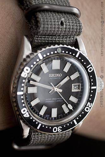 SEIKO 7S26-0050 Modifiée 20130610