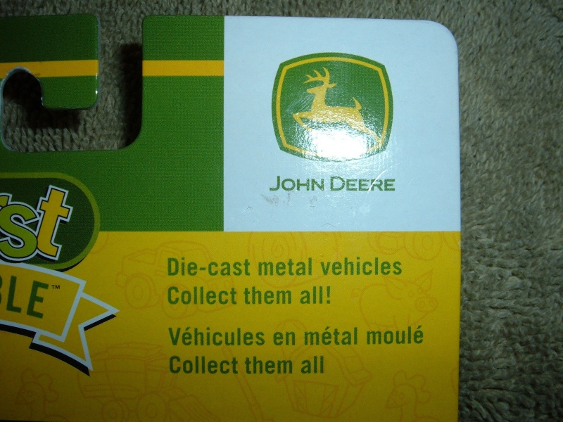 "GATOR 4x2 jaune postal/TP (ERTL ""My First Collectible"") Ertl_m10"