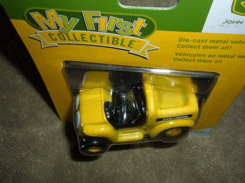 "GATOR 4x2 jaune postal/TP (ERTL ""My First Collectible"") Ertl_m14"