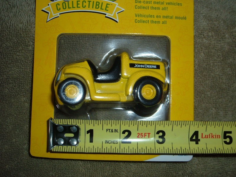 "GATOR 4x2 jaune postal/TP (ERTL ""My First Collectible"") Ertl_m15"
