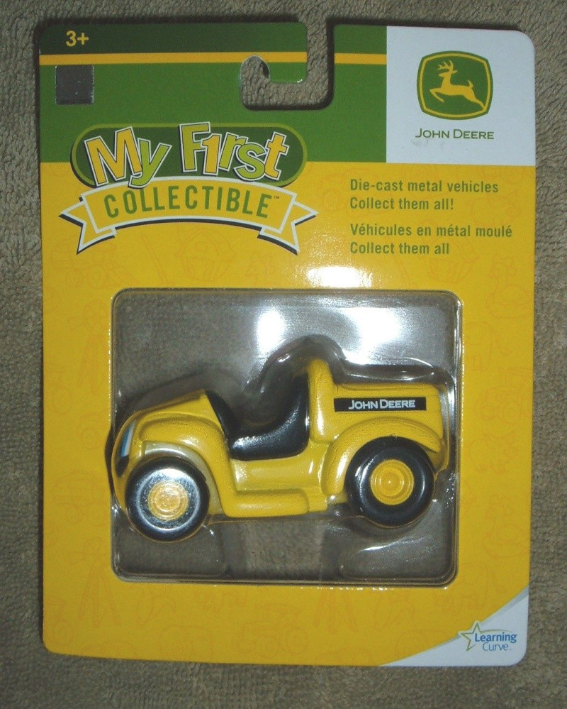 "GATOR 4x2 jaune postal/TP (ERTL ""My First Collectible"") Ertl_m16"