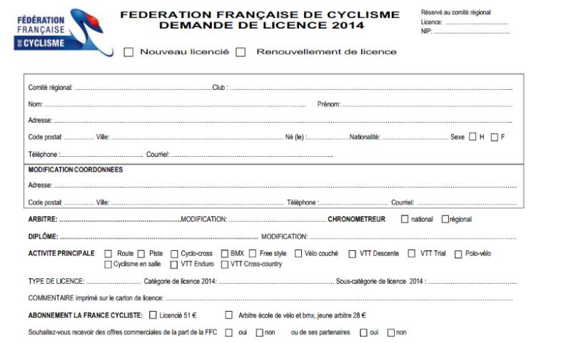 Toutes les COURSES, saison 2014 : Un Trophée ? des envies ? - Page 2 Licenc10