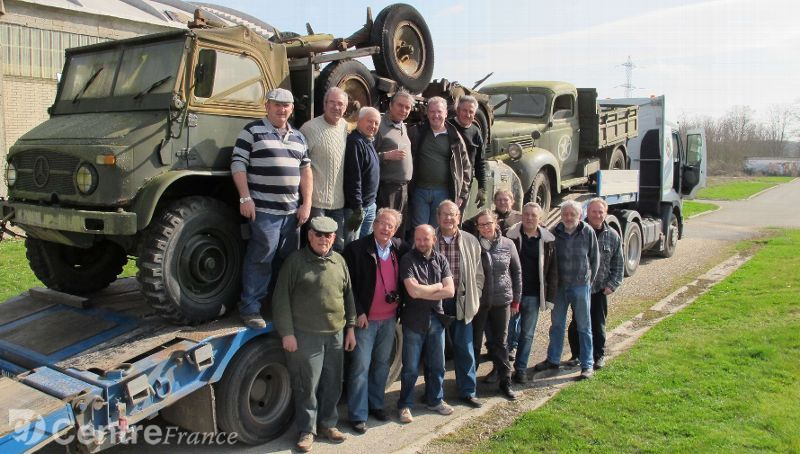 Deux nouveaux véhicules militaires de collection débarquent au musée de l'Historial, au Coudray 15619110