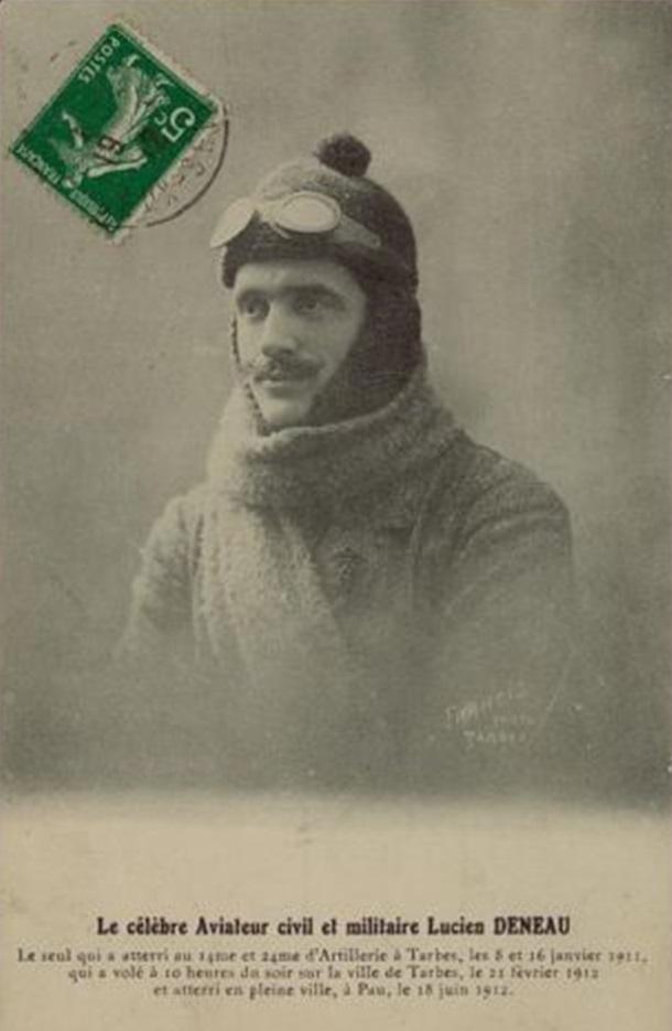 Le célèbre Aviateur civil et militaire Lucien DENEAU Deneau11