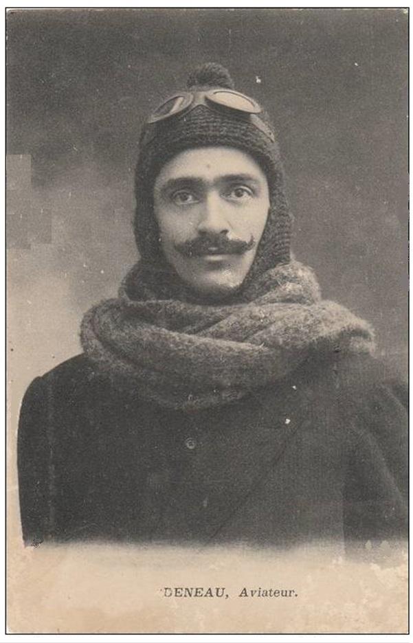 Le célèbre Aviateur civil et militaire Lucien DENEAU Deneau14