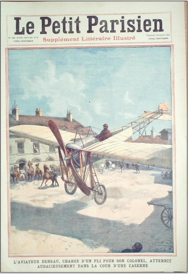 Le célèbre Aviateur civil et militaire Lucien DENEAU Deneau15