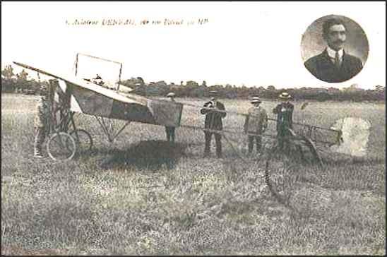 Le célèbre Aviateur civil et militaire Lucien DENEAU Deneau17