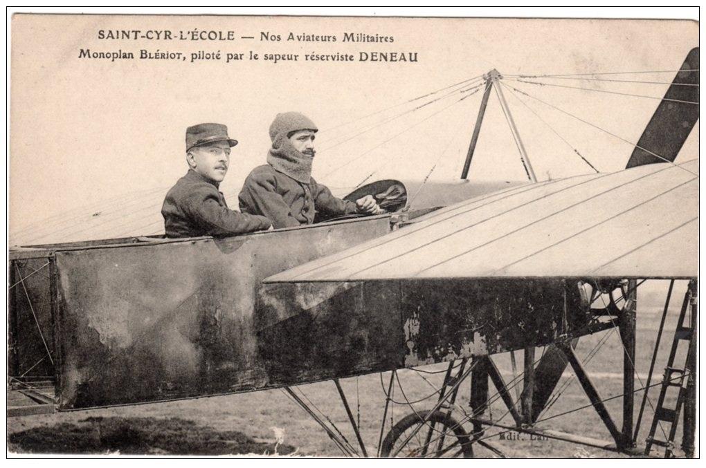 Le célèbre Aviateur civil et militaire Lucien DENEAU Deneau18