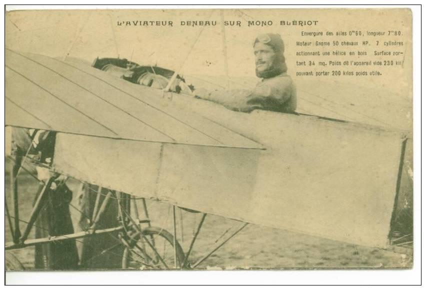 Le célèbre Aviateur civil et militaire Lucien DENEAU Deneau19