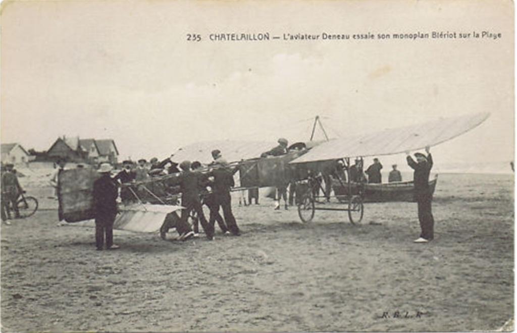 Le célèbre Aviateur civil et militaire Lucien DENEAU Deneau21