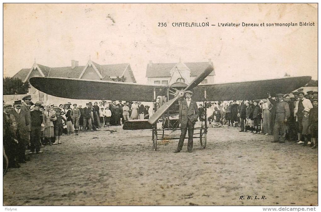 Le célèbre Aviateur civil et militaire Lucien DENEAU Deneau22