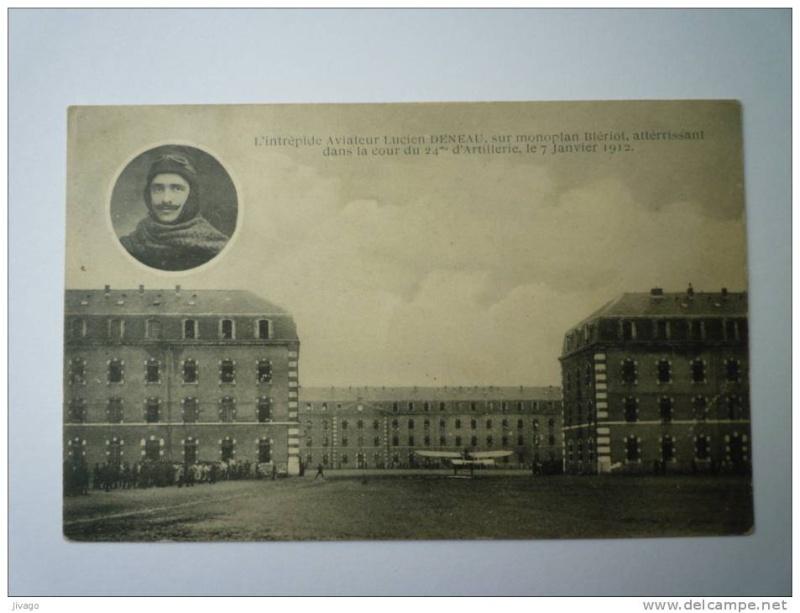 Le célèbre Aviateur civil et militaire Lucien DENEAU Deneau23