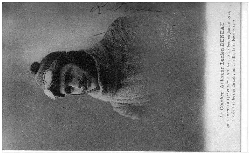 Le célèbre Aviateur civil et militaire Lucien DENEAU Deneau26