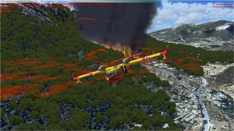 Compte rendu Mission sécurité civile Feu710