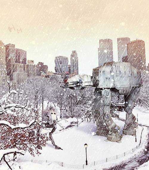 IT STOPPED SNOWING : ) Happy Holidays everyone!!!!!!! At-at-11