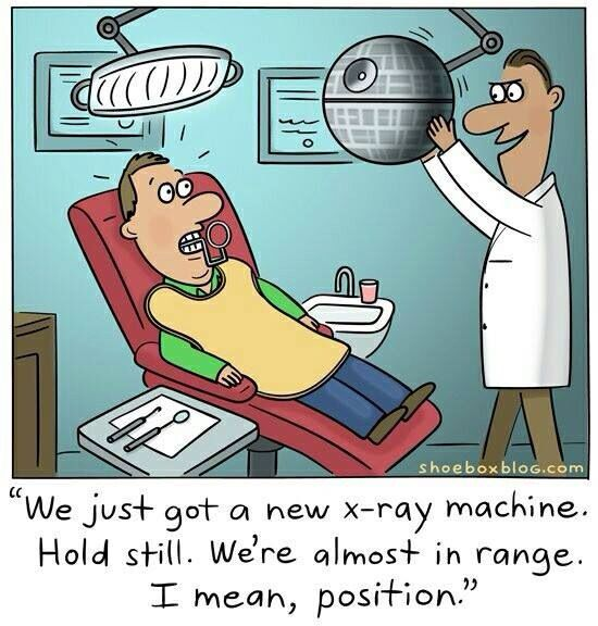 OT: My New Dentist has an interesting office B5bbe110
