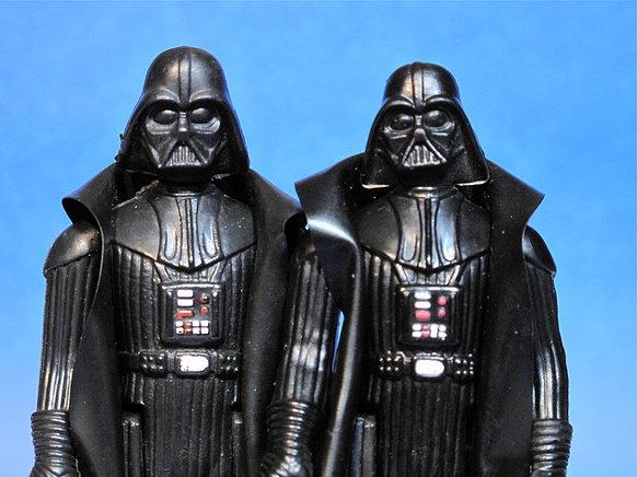 Unusual Darth Vader head sculpt Cbc57610